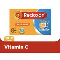 Redoxon Triple Action 20 Tablet Jeruk Asli Termurah Exp Terlama TOP