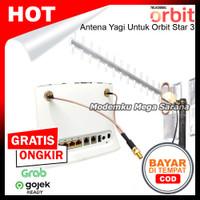 Antena Penguat Sinyal Yagi Modem Router Orbit Star 3 - ZTE MF283U