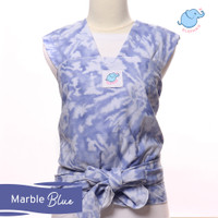 Elephas Instan Baby Wrap - Marble - TERACOTTA, S