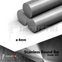 AS SUS 304 diameter 4mm |AS besi stainless per 1 meter