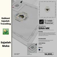Rabbani Sina Putih Sajadah Muka Traveler Haji Umroh Pria Wanita Remaja