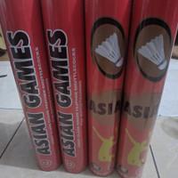 Shuttlecock Badminton merk Asian Games - Merah