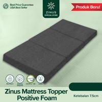 Zinus TriFold Mattress Topper Positive Foam Tebal 7.5cm