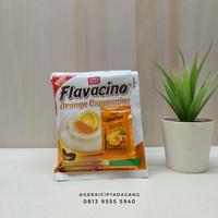 kopi flavacino ORANGE CAPPUCCINO   1 renceng (10 pcs)