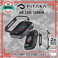 Case Apple Watch 4 5 6 SE 44mm 40mm PITAKA Air Case Aramid Carbon