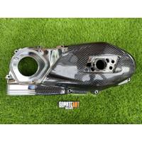 Cover Bak CVT Carbon Kevlar Fiber Parts Vespa Sprint Prima S LX iGet
