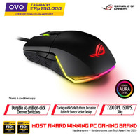 ASUS ROG Pugio - RGB Optical Wired Gaming Mouse