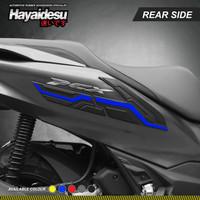 Hayaidesu PCX 160 Body Protector Rear Side Cover - Biru