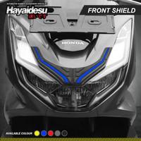 Hayaidesu PCX 160 Body Protector Front Shield Cover - Biru