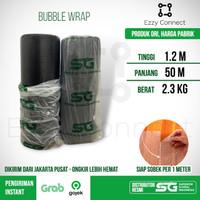 Bubble Wrap Hitam SG SIAP SOBEK 120 cm x 50 meter Ekonomis