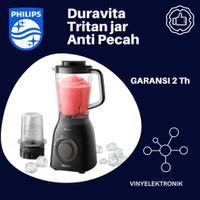 PHILIPS Blender HR2157 Tritan Jar 2 L Blender PHILIPS Duravita Hr-2157