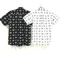 Bape Monogram Short Sleeve Shirt 100% Original