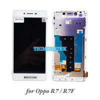 Lcd + Touchscreen + Frame Oppo R7 R7F Original
