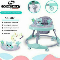 baby walker baby space