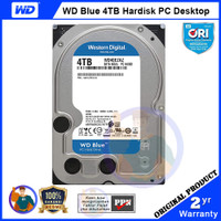 WD Blue 4TB Hardisk PC - 5400RPM, 256MB Cache - WD40EZAZ