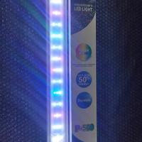 Lampu LED Aquarium Aquascape Kandila P500 RGB 50-60cm