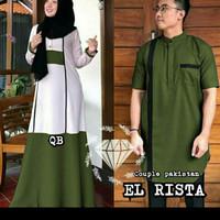 baju couple pasangan/couple muslim/couple keluarga/couple murah/couple