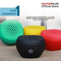Soundplus Boru Speaker Bluetooth v4.1 / Wireless / Portable - Hitam