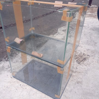 Aquarium mini P 30 L 20 T 25 kaca 3mm gress