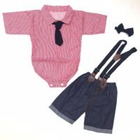 baju setelan pergi jalan lucu anak bayi cowok laki murah bestseller