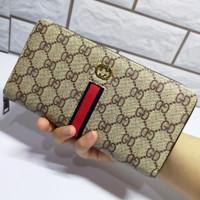 dompet wanita gucci Import / dompet genggam wanita Gucci - Cokelat