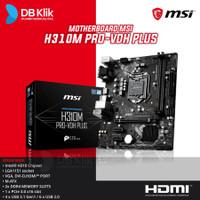 Motherboard MSI H310M PRO VDH Plus - MB MSI H310 M Pro-VDH+
