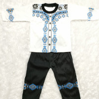 COD Pakaian Muslim Baju Koko Bayi Laki-Laki 2-10 Bulan Camen Series
