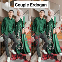 an baju couple kapel cople kemeja gamis busana muslim fashion pria wan