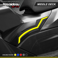 Hayaidesu PCX 160 Body Protector Middle Deck Cover