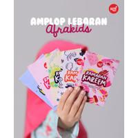 Amplop Lebaran Keren dari Afrakids (isi 25pcs dan 50pcs) - 25pcs