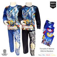Baju Tidur Setelan Anak Laki-laki Piyama Ultraman
