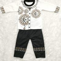 COD Pakaian Muslim Baju KoKo Bayi Laki-Laki 2-10 Bulan