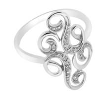Cincin Ring Emas Berlian infinite - GGR 9814W