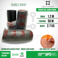 Bubble Wrap Hitam SG SIAP SOBEK 120 cm x 50 meter