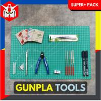 Tools Set Gundam Gunpla - Tool Kit Rakit Gundam (Super+ Pack)