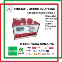 STABILIZER MATSUNAGA 500watt STAVOLT SVC 500N