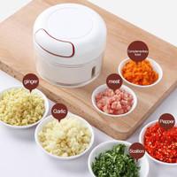 (BC) Blender Mini Chopper Food Processor Makanan Bayi Bumbu MPASI