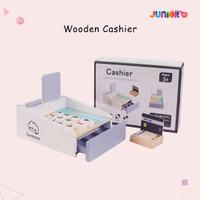 Wooden Cashier / Mainan Kasir / Mainan Mesin Kasir / Mainan Anak / Pre