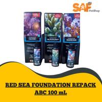RED SEA FOUNDATION ABC REPACK 100 mL DOSING AQUARIUM AIR LAUT