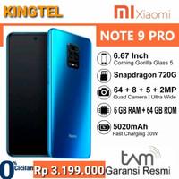 XIAOMI NOTE-9PRO RAM 6/64GB BLUE ADA NFC