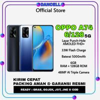 oppo a74 6/128 5G new garansi resmi