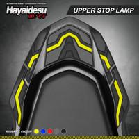 Hayaidesu PCX 160 Body Protector Upper Stop Lamp Cover