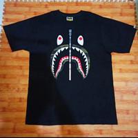 Original Authentic Kaos A Bathing Ape BAPE SHARK tee 1st Camo