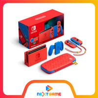 Nintendo Switch V2 Console Mario Red and Blue Edition