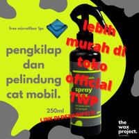 Spray Wax - Pengkilap Body Motor Mobil Efek Daun Talas Hydrophobic