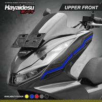 Hayaidesu PCX 160 Body Protector Upper Front Cover - Biru