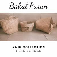 Bakul Purun/Anyaman Purun/Keranjang Belanja/Hampers/Seserahan/CoverPot