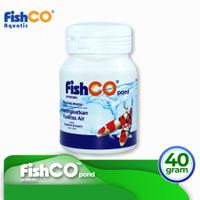 Bakteri Probiotik untuk Kolam Ikan Koi FISHCO POND botol 40gr