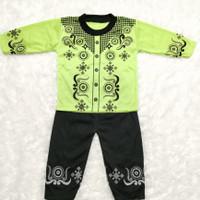Pakaian Muslim Baju Koko Bayi Laki-Laki 2-10 Bulan Camen Series
