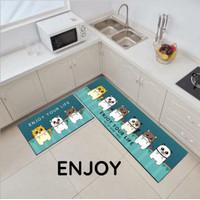 Kitchen Floor Mat / Keset Kaki Rumah Dapur Pintu Kamar Anti Selip